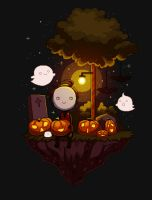 Pixel Halloween by Gabbi