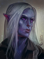 Drizzt by sagasketchbook