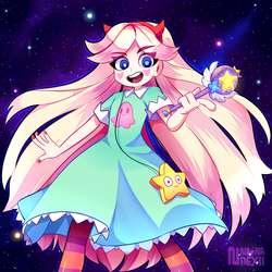 Star Butterfly by Nana-Naexii