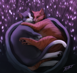 Dreaming of you by WolFirry