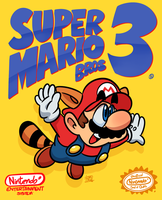 Super Mario Bros 3 by art-ikaro