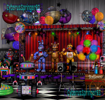 (SPOILERS!) Freddy Fazbear's Pizza!-FNaF 6 (Edit) by CyberusSpringer03