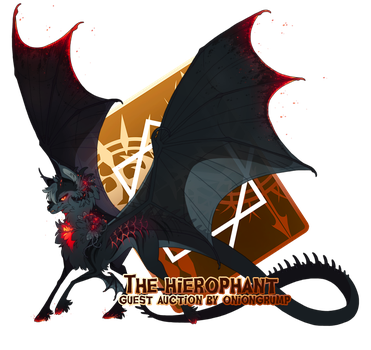 { Stygian Guest Auction } The Hierophant (Over!) by Zoomutt
