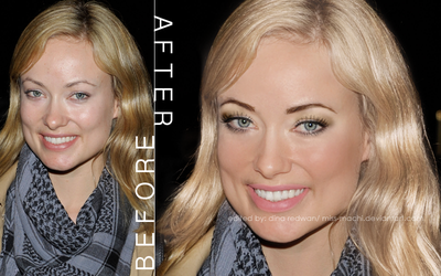 Olivia Wilde Retouch by Miss-Machi