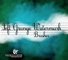 Soft Grunge WaterMark Brushes by spiritcoda