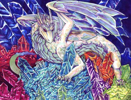 Crystal Dragon by raerae