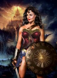 Wonder Woman, the Legend by peterg666666