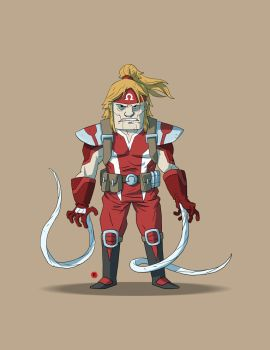 Omega Red by darrenrawlings
