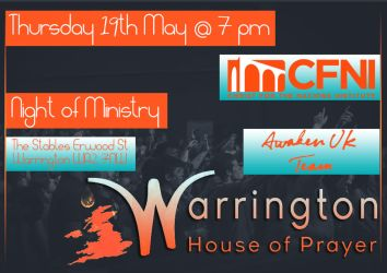 Warrington House of Prayer - Event Flyer by Blissful-Creations