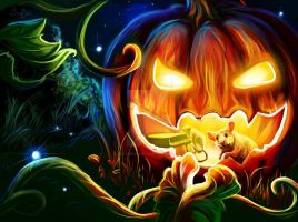 Halloween. Was not very by SalamanDra-S