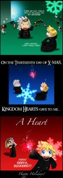 On the Thirteenth Day of X-Mas by terriblenerd