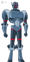 Ultron - Bruce Timm style by JTSEntertainment