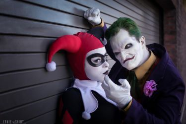 Joker and Harley Quinn - The Downside by Enasni-V