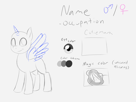 Pony Ref YCH/Customs (OPEN) by NyctOphelia