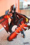 Female Aatrox Cosplay Otakuthon 2014 02 by KyuProduction