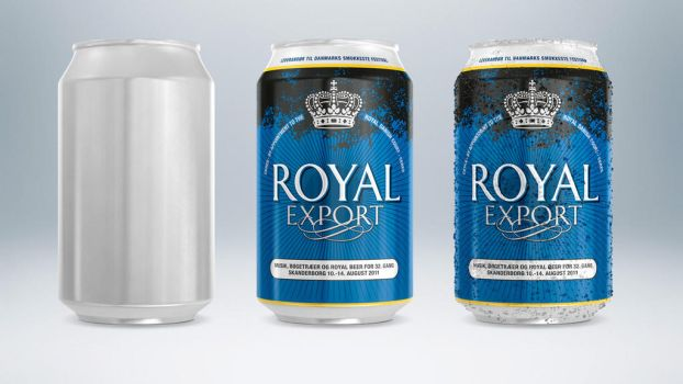 Royal Beer Cans by PixelPirate