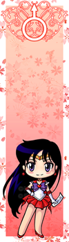 Sailor Mars bookmark by Marc-G