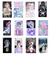 CLOSED Aesthetic Adopts by Rikos-Adopts