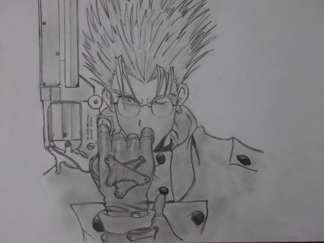 Vash The Stampede by CaptainUsoppSama