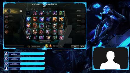 PROJECT Ashe - Lobby Overlay by lol0verlay