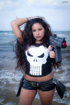 The Punisher - Playtime is over. by PrincessMiele