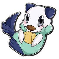 Oshawott - NOM NOM by Nestly