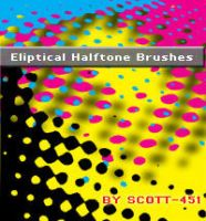 Eliptical Halftone brushes by scott-451