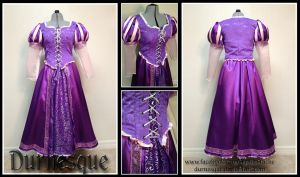 Rapunzel's Dress by Durnesque