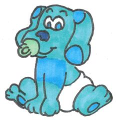 Baby Blues Clues by lilyraccoon