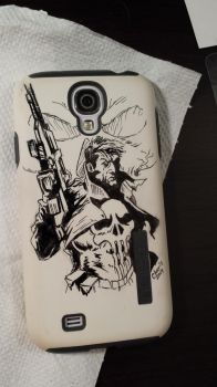 Punisher Phone by luthorhuss13