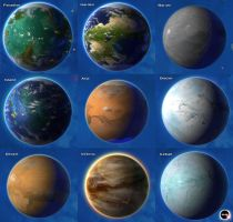 Stars in Shadow: Planet Types by AriochIV