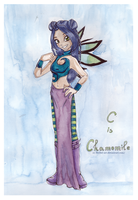 C. -  Chamomile -Air by Reybel-Art