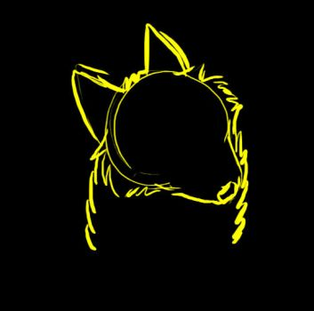 Gold-Sketch-Wolf-Animation- by ScarletCB1999