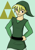young Link by amiko16