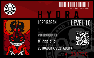 hydra agent lord bagan by connorm1
