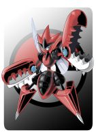 Mega Scizor by Serpentkingsaul2