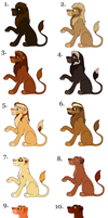 Adopts   Free for Watchers! - Closed by Sukida-Adopts