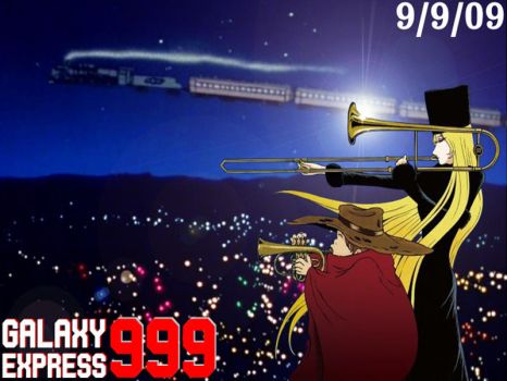 Galaxy Express 999 September 9 by DrummingOni