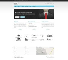 Clean Bussines Layout Template by coleg