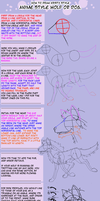How to Draw a Wolf Anime Style by kristyd
