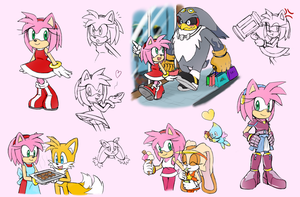 -STH Amy Doodles!- by Biko97
