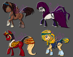Pony Adopts (OPEN) by PinkPeafowl-Adopts