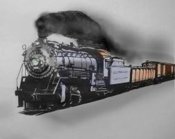 Colorado and Southern Freight by PRR8157