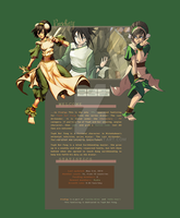 Prodigy - Toph Bei Fong Fanlisting by PinkWoods