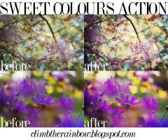 sweet colours action by Laura1995