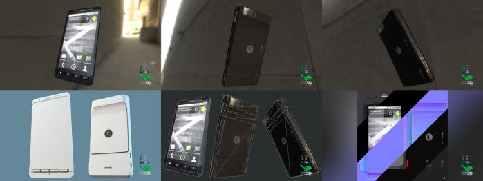 Droid X - Smartphone Prop Model by SASteinhebel