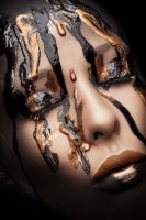 Black and Gold Beauty 2 by Kristiana1990