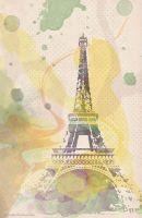 Eiffel Tower Vector by Ssargasm