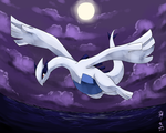 Lugia by Banksia-Ghost