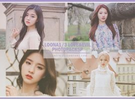 LOONA1/3 [Love Evil] photopack5P by YEONCIN by yeoncin